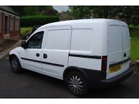 One off condition Vauxhall combo van low miles catering