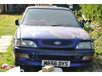 PROJECT ford escort si cabriolet. with full log book