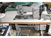 """Durkopp Adler 767 walking foot Needle Feed(COMPOUND)""""AIR ASSISTED""""sewing machine"""