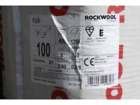 5 Packs Rockwool Flexi slabs 400x1200x100 £40