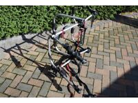 HALFORDS BIKE RACK - Takes 3 bikes -great quality - almost new