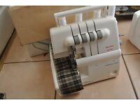 Multi-Function 4 THREAD Sew Easy super overlocker machine