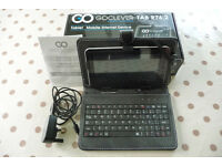 """7"""" tablet with keyboard, case & charger - GoClever Tab R76.2"""