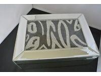 JM by Julien Macdonald Jewelled Mirrored Trinket Box New Unused