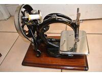Beautiful FRISTER & ROSSMANN Chain stitch Sewing Machine(*****SEE SAMPLE SEWN*****)