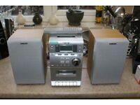 Sony Silver Mini Hifi system w