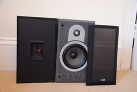 B & W 500 Series bookshelf/standmount speakers