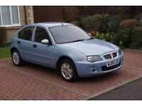 Rover 25 SEi auto/sports gearbox - Ice blue 5 door hatchback- Petrol 1588cc