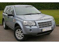£0 DEPOSIT FINANCE***Land Rover Freelander 2 2.2 TD4 XS 5dr **8 STAMPS**6 MONTH WARRANTY**