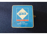 Camping GAZ Deluxe single burner stove with x2 gas cylinders