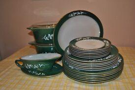J AJobling dinner set
