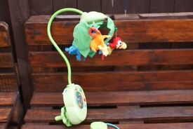 baby cot mobile fisher price