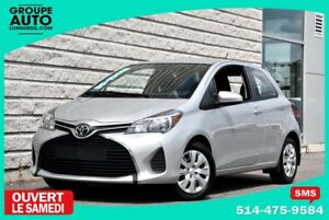 2015 Toyota Yaris CE*HATCHBACK*SILVER*1PROPRIO*