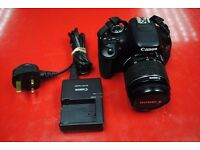 Canon EOS 600D with Canon Lens 18-55mm 3.5-5.6 IS II £260