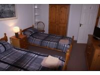 Workmens Accommodation single or twin all bills incl. tv,dvd wifi washer drier