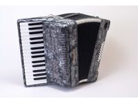 New Stephanelli 24 Bass Accordion with Extended Keyboard
