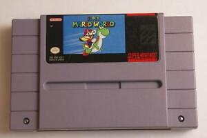 Super Mario World - Super Nintendo (SNES) Game - Great Mario!