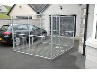 8 ft galvanised dog pen