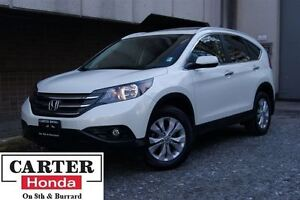 2014 Honda CR-V Touring + NAVI + NO ACCIDENTS + CERTIFIED!