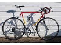 Eddy Merckx Strada Vintage Road Bike 60cm Steel/Classic. Team Hitachi colour-way.