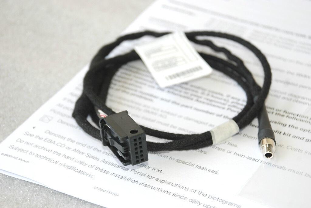 Bmw E63 E64 Cd Player Radio Mp3 Aux Input Adapter Kit 65120153502 645ci 650ci M6 Ebay