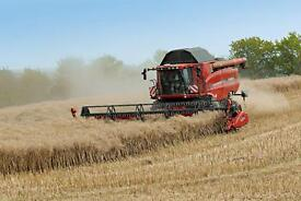 EXPERIENCED HARVEST WORKERS REQUIRED - Scottish Borders & East Lothian