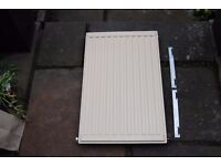 Small Radiator with Brackets