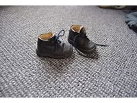 Baby boy first shoes, German brand, real leather and hard wearing sole. Good condition.