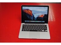 "macbook pro 13"" retina 2015/2016 core i5 128 ssd 8gb ram 2.7 processor microsoft office"