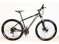 Like new MERIDA BIG SEVEN 100 mountain bike with fluid brakes - 27.5 wheels