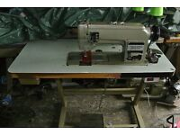 Toyota TWIN needle, needle Feed Industrial sewing machine (for Upholstery,Canvas