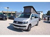2016 Volkswagen VW Transporter T6 102ps Pop-Top Camper Campervan Brand New Conversion