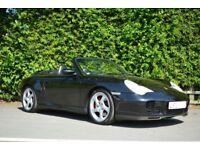 PORSCHE 911 CARRERA . 4S . CABRIO. TIPTRONIC. Met Black ..Includes plate