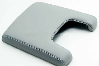Fits 09-14 Acura TL Console Armrest Cover Synthetic Leather Gray
