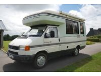 VW Auto Sleeper Clubman GL.1996 2.4 diesel, Man. Gearbox RHD, Bike rack, Awning, 2 Berth