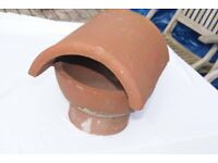 vintage clay chimney pot cover planter perhaps