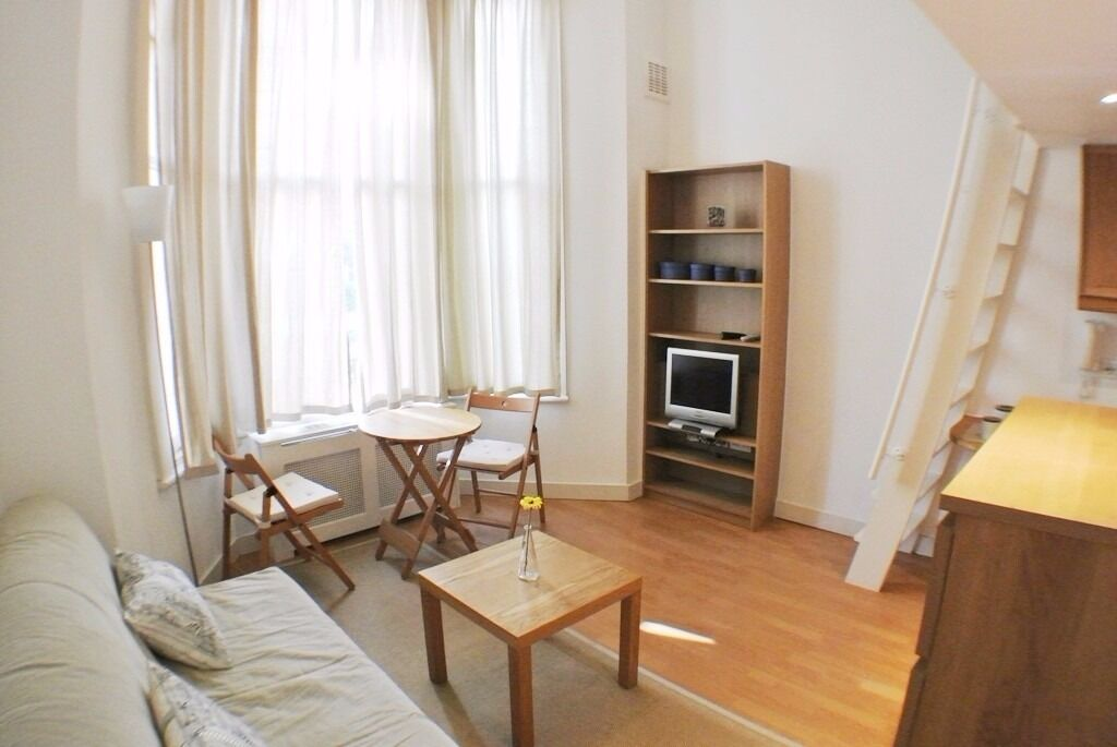 -STUDIO WITH MEZZANINE TO LET IN PIMLICO ***FREE UTILITIES, SKY & INTERNET***