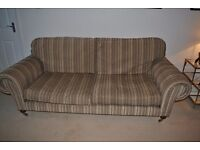 Beautiful 4 seater sofa with Laura Ashley fabric