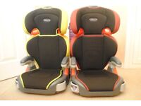 Graco child car seats,ideal for grandparents,suit child up to 7yrs.2 seats.