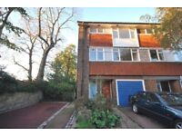 Large 4 Bedroom House with 2 Parking Spaces, Garage and a Private Garden. Available Now