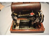 Vintage 128K Singer Sewing Machine