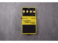 Boss Turbo Overdrive OD-2 Guitar Pedal Yellow Made in Japan £180