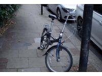 "Ridgeback (Dahon) Envoy 20"" Folding Bike used but in good condition and regularly serviced"