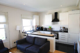 Chic two bedroom split level apartment in Maida Vale W9