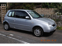 VW Lupo 1.7 tdi. 2003. Silver. Low Tax. Good condition. 75mpg. £1,500