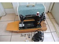 Singer 201K Electric Sewing machine for LEATHER< DENIN,<CANVAS<COTTON< SILK