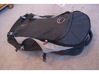 A lightweight rucksack without a frame.