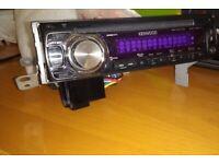 Kenwood car radio CD receiver MP3/wma/aac