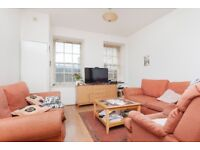 Spacious, 2 bedroom, furnished flat off Leith Walk with private parking - available August