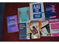 8 ACCOUNTING BOOKS FOR ONLY £10
